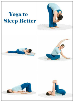 fitnessloveaffair:  Try these yoga poses before bed to help you sleep. Hold for 15-30 seconds.