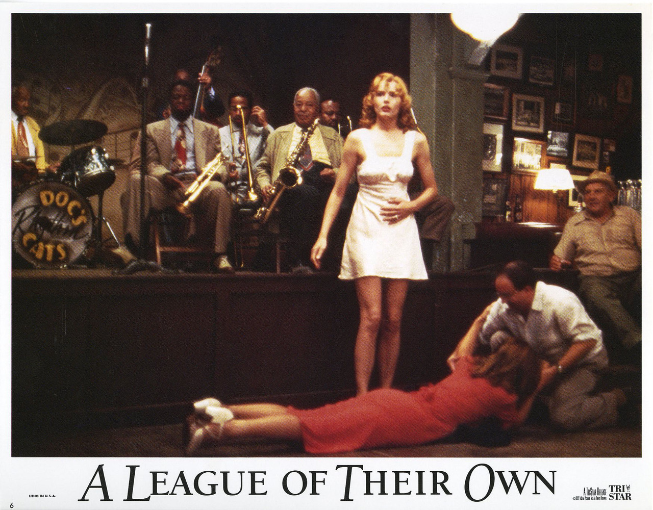 A League of their Own, US lobby card. 1992