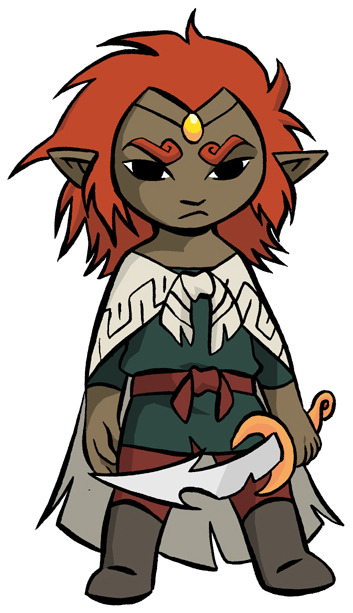 waywardknight:  Legend Of Zelda: Windwaker - Young Ganondorf By: tarajenkins on deviantart.