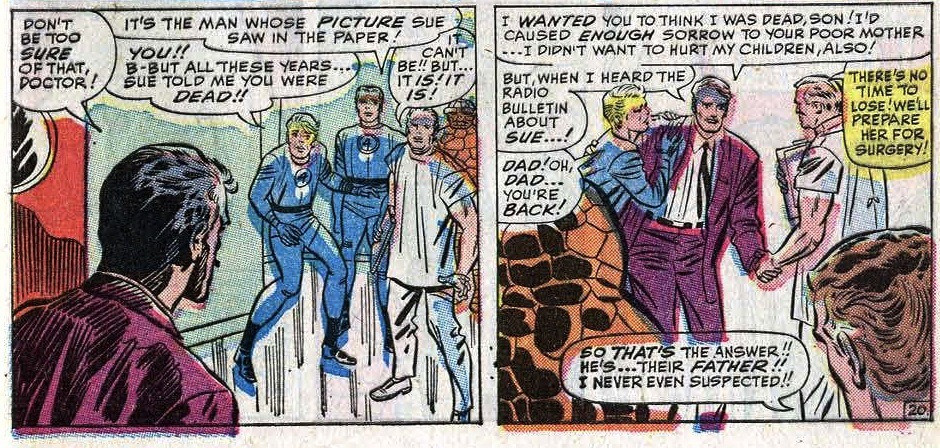 wait what  Fantastic Four #31 (1964)
