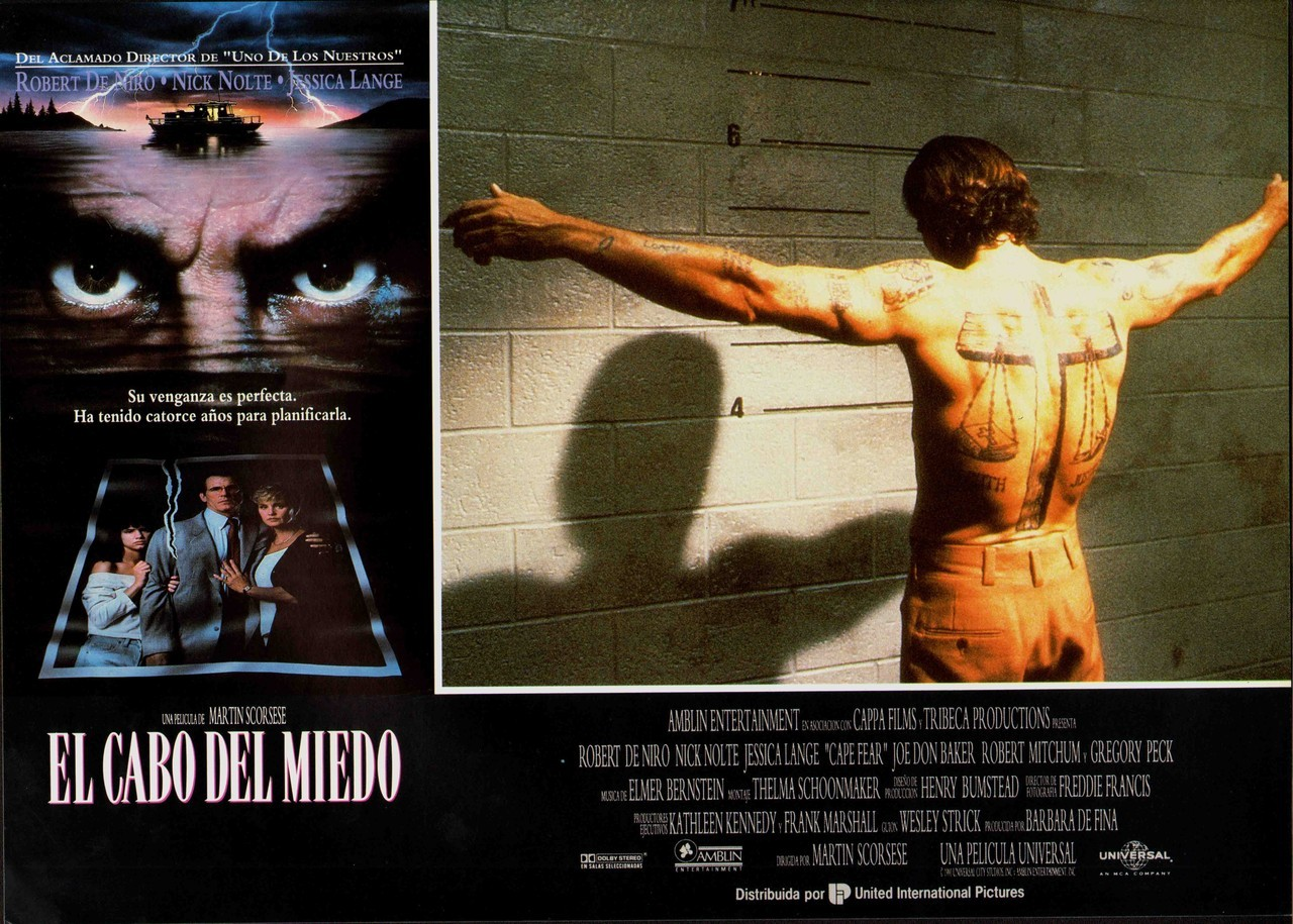 Cape Fear, Spanish lobby card. 1991