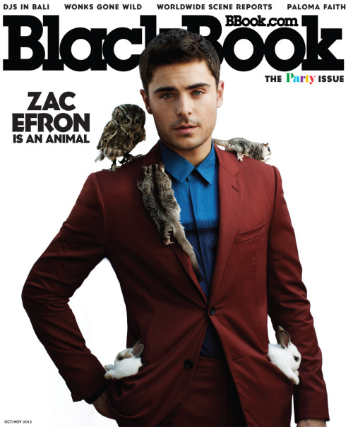 Zac Efron Covers Our Upcoming Party Issue!