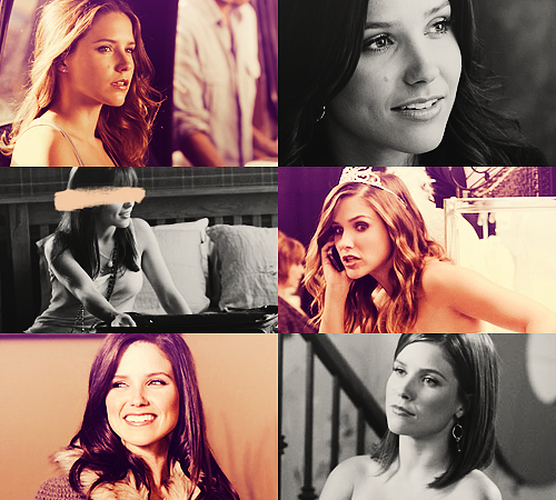 06. Brooke Davis - One Tree Hill25 males + 25 females  / Top 50 favorite tv characters in same colors