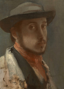 """Self-Portrait"", 1857-58  By: EDGAR DEGAS…."
