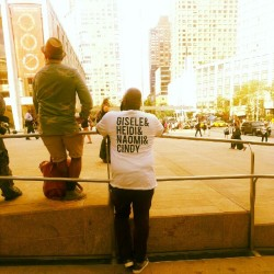 T-shirt spotted at #nyfw. Want!  (Taken with Instagram)