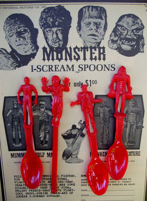 I-Scream Spoons (1960s)