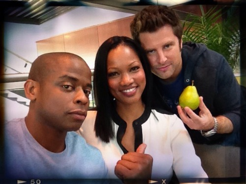 you see me, Garcelle Beauvais, James Roday and…This Pear - Psych
