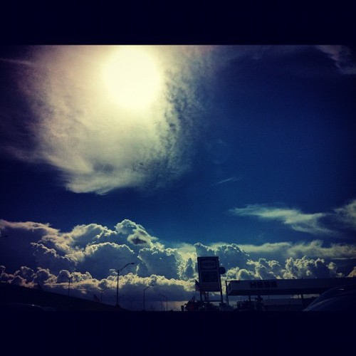 This one. >  #clouds #beauty #beautiful #skyline #photography #loveit  (Taken with Instagram)