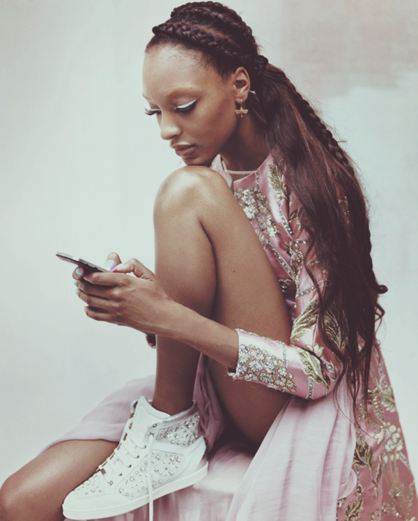 anonymousrush:  Jourdan Dunn for Vogue UK October 2012