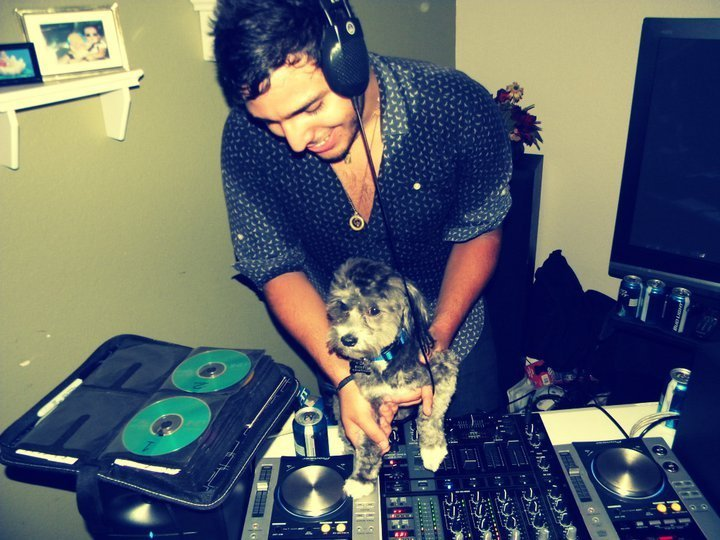 I teach dogs while I dj.. true skill