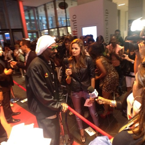 #redcarpet #reincarnated #tiff12 (Taken with Instagram)