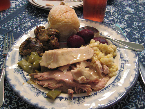 Thanksgiving Side Dishes  The Thanksgiving holiday makes me think of some of my favorite dishes. Cornbread dressing with giblet gravy, baked candied sweet potatoes, cranberry orange relish, pumpkin pie, cranberry salad and yeast rolls are a few to start with. Cooking is one way I express my love for my beautiful family. We are a crowd when we can all get together, talking, laughing and sharing our lives. Maybe you will make some of these recipes as a side dish at your Thanksgiving meal. The baked candied sweet potatoes are especially baked for me by my mother; I look forward to them every year.