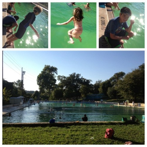 Late Summer 104F?  #NoProblem #ATX ~ #KeepAustinWeird  via @frametastic (Taken with Instagram at Deep Eddy Park)