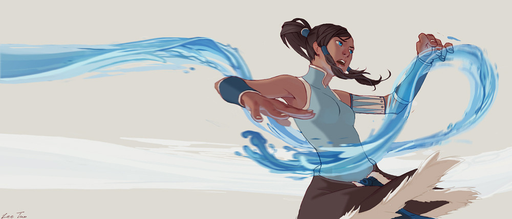 Korra By TaoPaint  Beautiful work!
