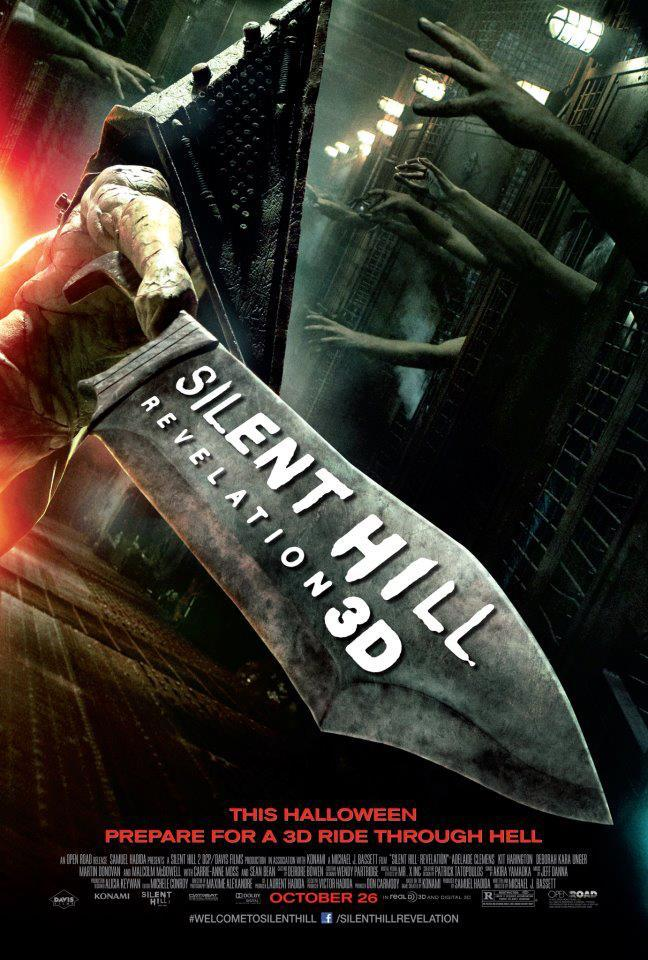 Brand new poster for Silent Hill: Revelation 3D
