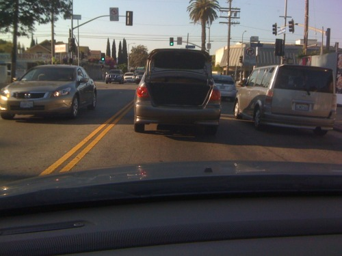 bad LA drivers, part 2 this one was for MILES.