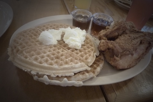 Roscoe's Chicken and Waffles (Photo by - justine)