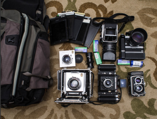 japancamerahunter:  In your bag #264 - Travis Mortz
