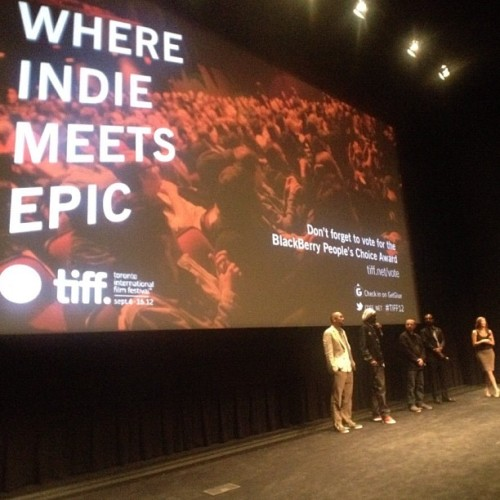 #reincarnated #tiff12 (Taken with Instagram)