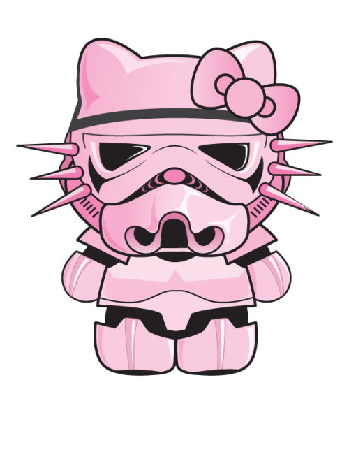 Hello Kitty x Stormtrooper