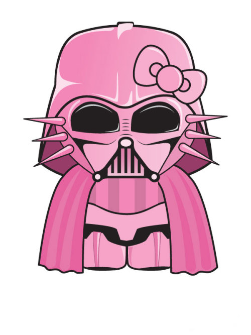 Hello Kitty x Darth Vader