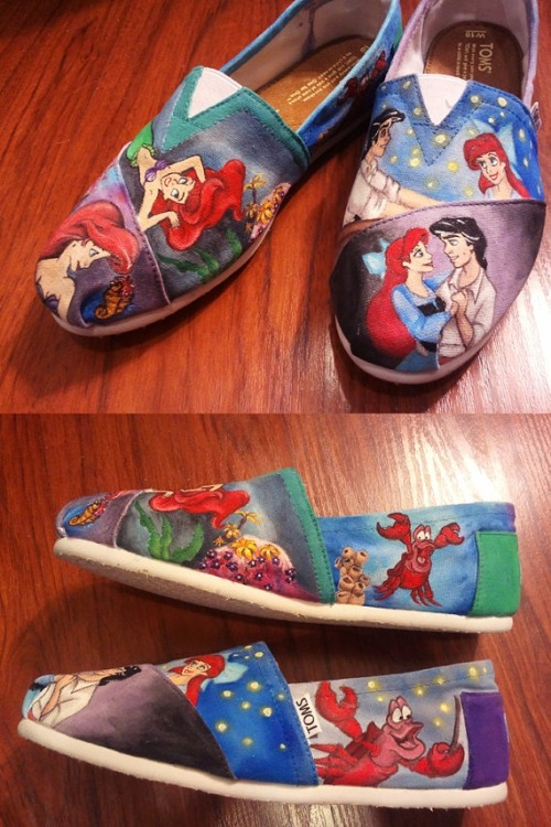 mydisneysyndrome:  » Little Mermaid Toms— want «
