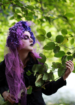 Model is Erin HolmesMakeup & Styling by meReal Flower Headdress made by meWardrobe is my own