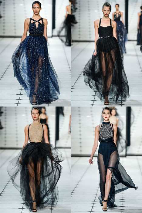 fuckyeahvintagediary:  Jason Wu Spring/Summer 2013 collection, New York Fashion Week. Models: Kati Nescher, Jac Jagaciak, Karlie Kloss, Cora Emmanuel