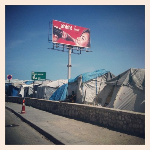 Looking through my pics from Haiti for a talk next week. (Taken with Instagram)