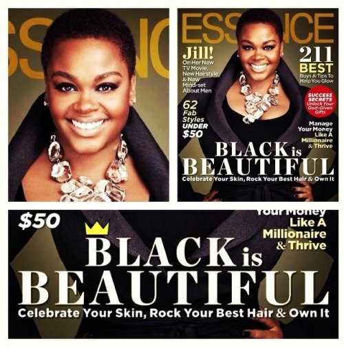PHOTO: the essence of natural beauty: @missjillscott, keeps it Queen. posted by knimi.