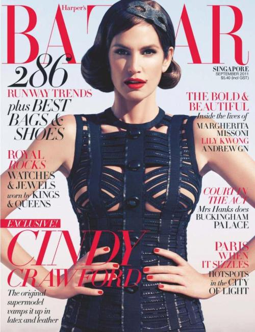 Harper's Bazaar Singapore September 2011 Two Covers