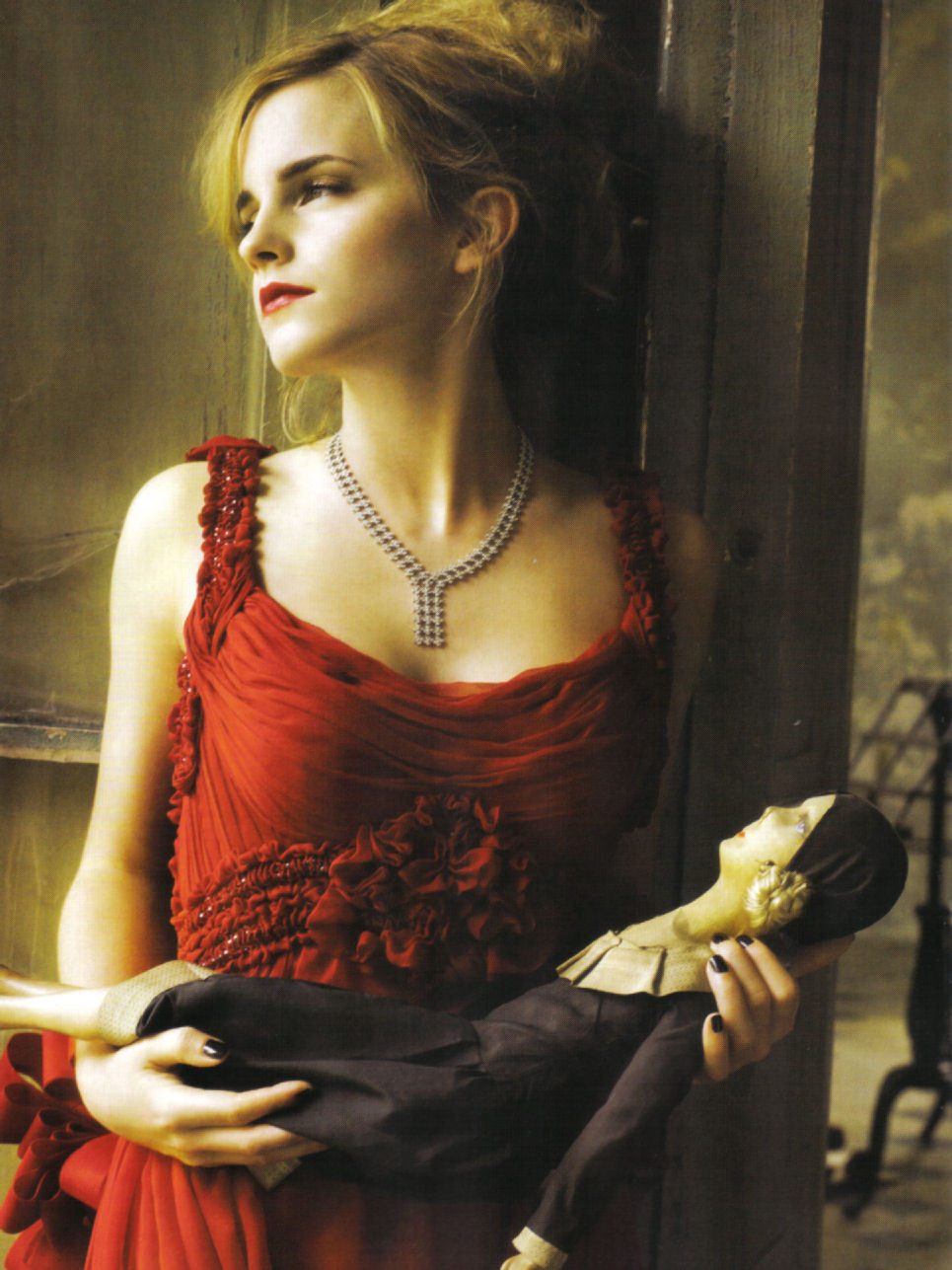 Emma Watson - Vogue Italia by Mark Seliger, September 2008