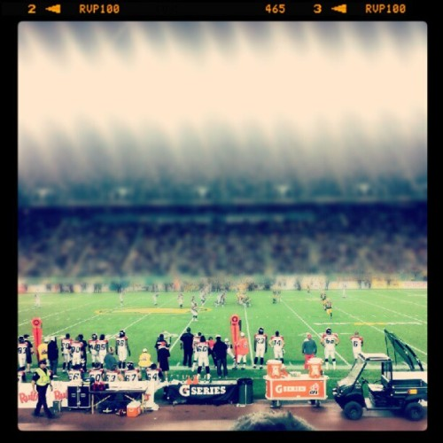 Under the lights… #Esks #CFL #YEG (Taken with Instagram)