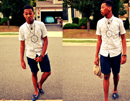 first day of school , chillin lls .