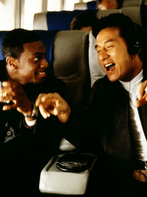 No matter how many times I watch the Rush Hour movies, I still laugh hysterically. I really want to do a Rush Hour marathon soon. LOVE THE JACKIE CHAN & CHRIS TUCKER DUO.