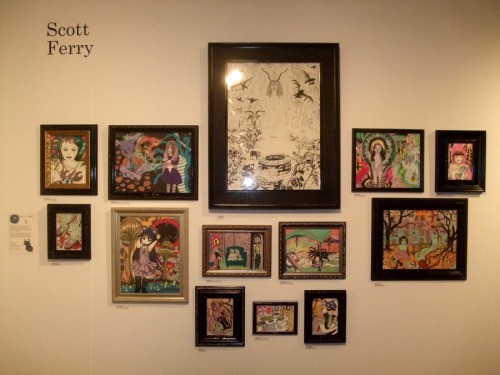 For more picts of Scott Ferry and Ammut Aisilinn showing at the Agora Gallery, Cegep du Vieux Montreal check out my blogspot at :http://sicklyplaythings.blogspot.ca/2012/09/scott-ferry-and-ammut-aisilinn.html