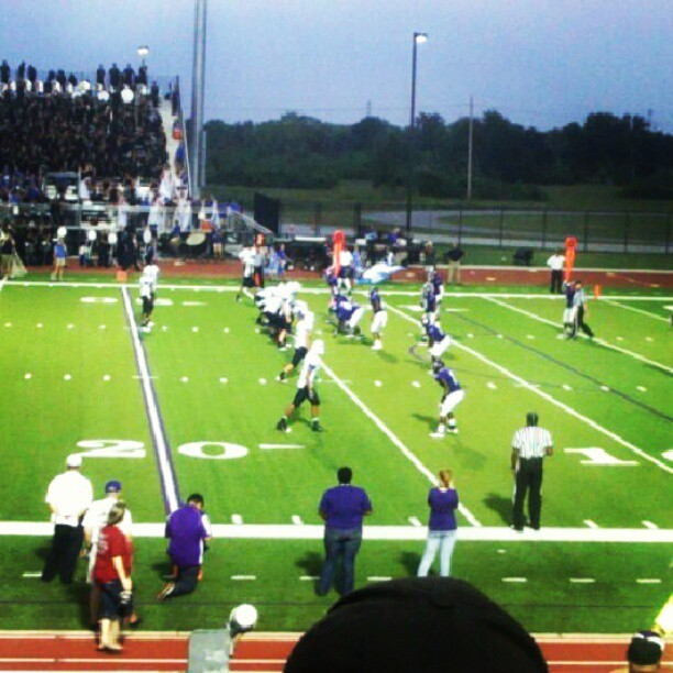 Football game! #Fun  (Taken with Instagram)