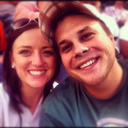 Tiger game vs white socks @jhartman1  (Taken with Instagram)