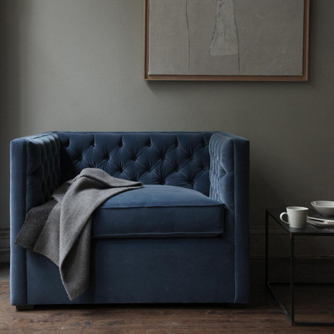 (Mercer Tufted Club Chair From Canvas Home)