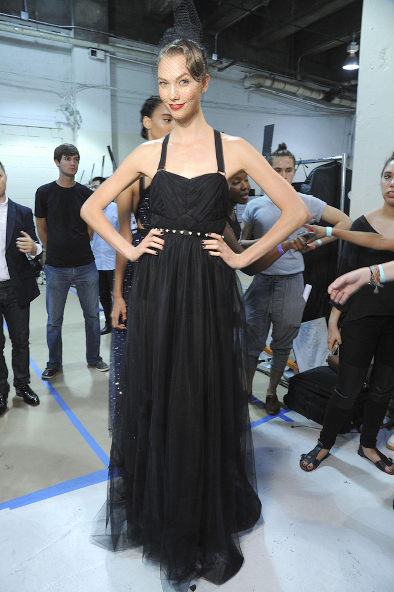 fuckyeahvintagediary:    Karlie Kloss at Jason Wu Spring/Summer 2013, New York Fashion Week.