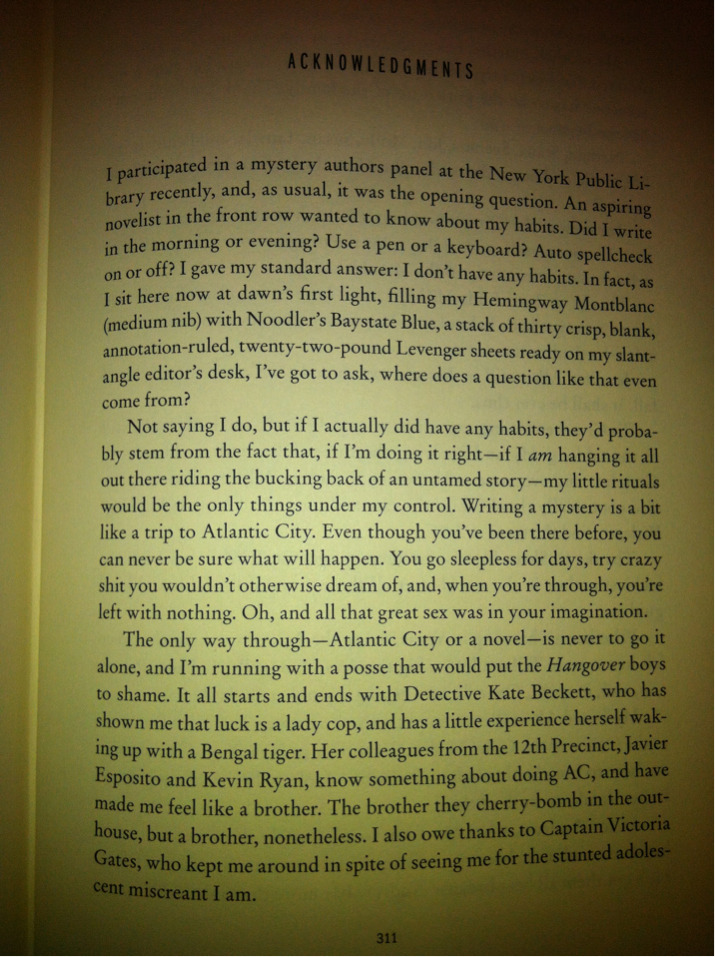 loraleestarla:  Frozen Heat - First page of Acknowledgements.