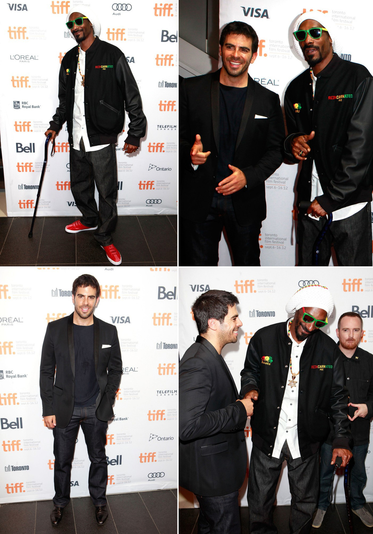 Snoop & Eli Roth - Reincarnated premiere at TIFF, September 7th 2012