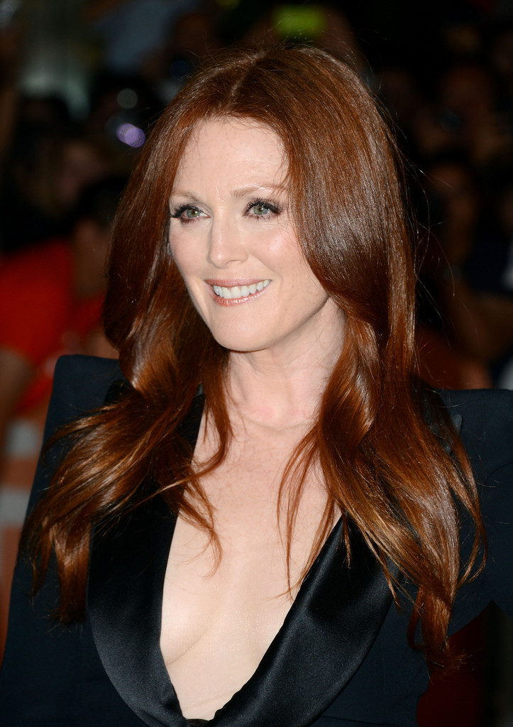 Julianne Moore - What Maisie Knew premiere at TIFF, September 7th 2012 Another Titian Queen! Truly we are blessed.
