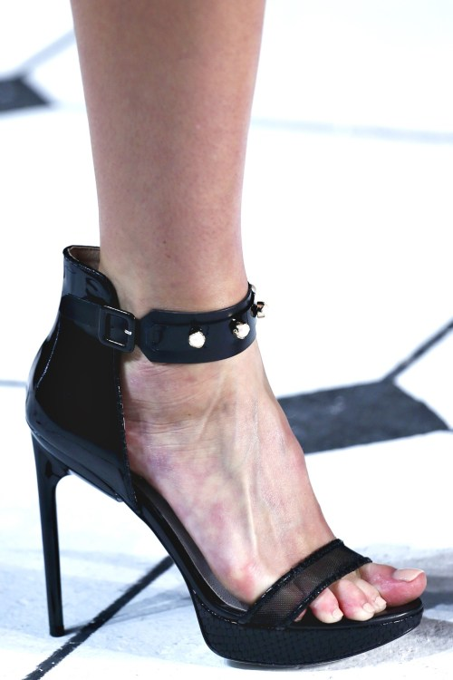 Detail at Jason Wu S/S 13 NYFW