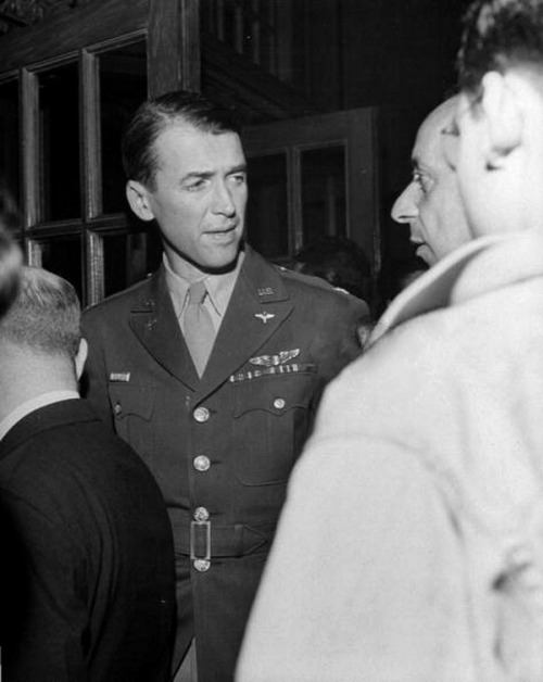 lars134:  Jimmy Stewart during WWII