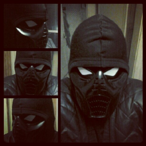 My Noob Saibot cosplay finally complete! #noob #noobsaibot #mk #mortalkobat #mk9 #cosplay #awesome (Taken with Instagram)