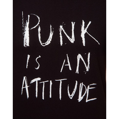 Unconditional Punk Is An Attitude T-Shirt   (clipped to polyvore.com)