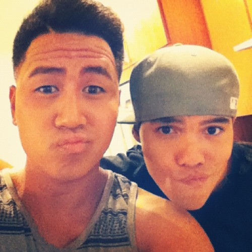 Reunion with the @iamtherealdtrix (@D_Trix) #YTFLegacy (Taken with Instagram)