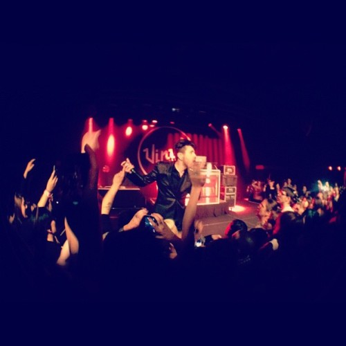 @BlaqkAudioOfficial @mikeymurrder #DaveyHavok (Taken with Instagram at Vinyl Las Vegas)