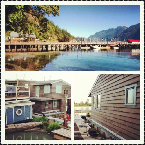 #floathomes #beautiful #scenic #scenery #photography #ocean #vacation #dock #beach #home #Canada #relaxation #water (Taken with Instagram)